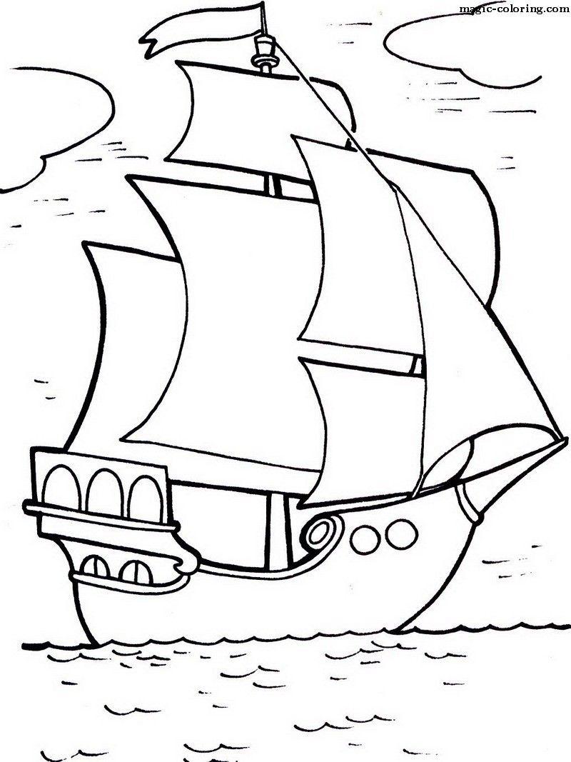 Magic Coloring Boats Coloring Pages Art Drawings For Kids Cartoon Drawing For Kids Boat Drawing [ 1067 x 800 Pixel ]