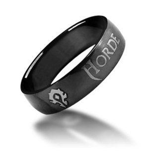 For the Horde ~ World of Warcraft Horde Ring ~ Titanium Steel