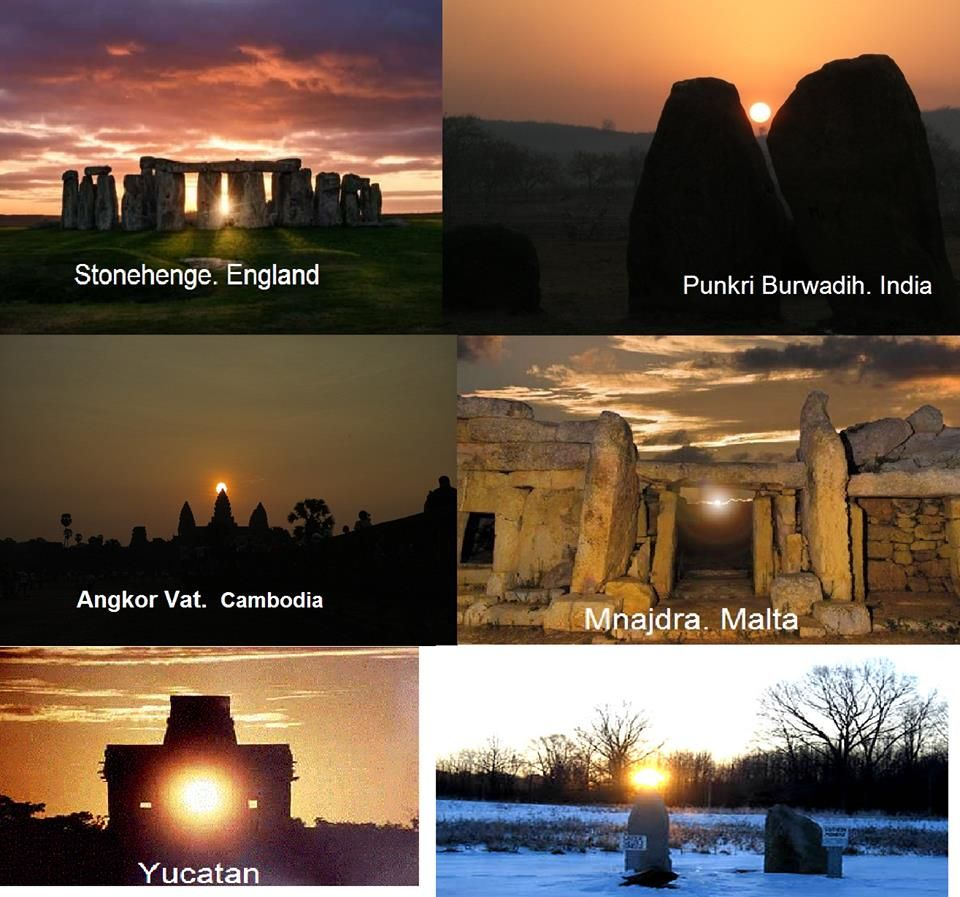 Punkri Megaliths align to equinox and solstice