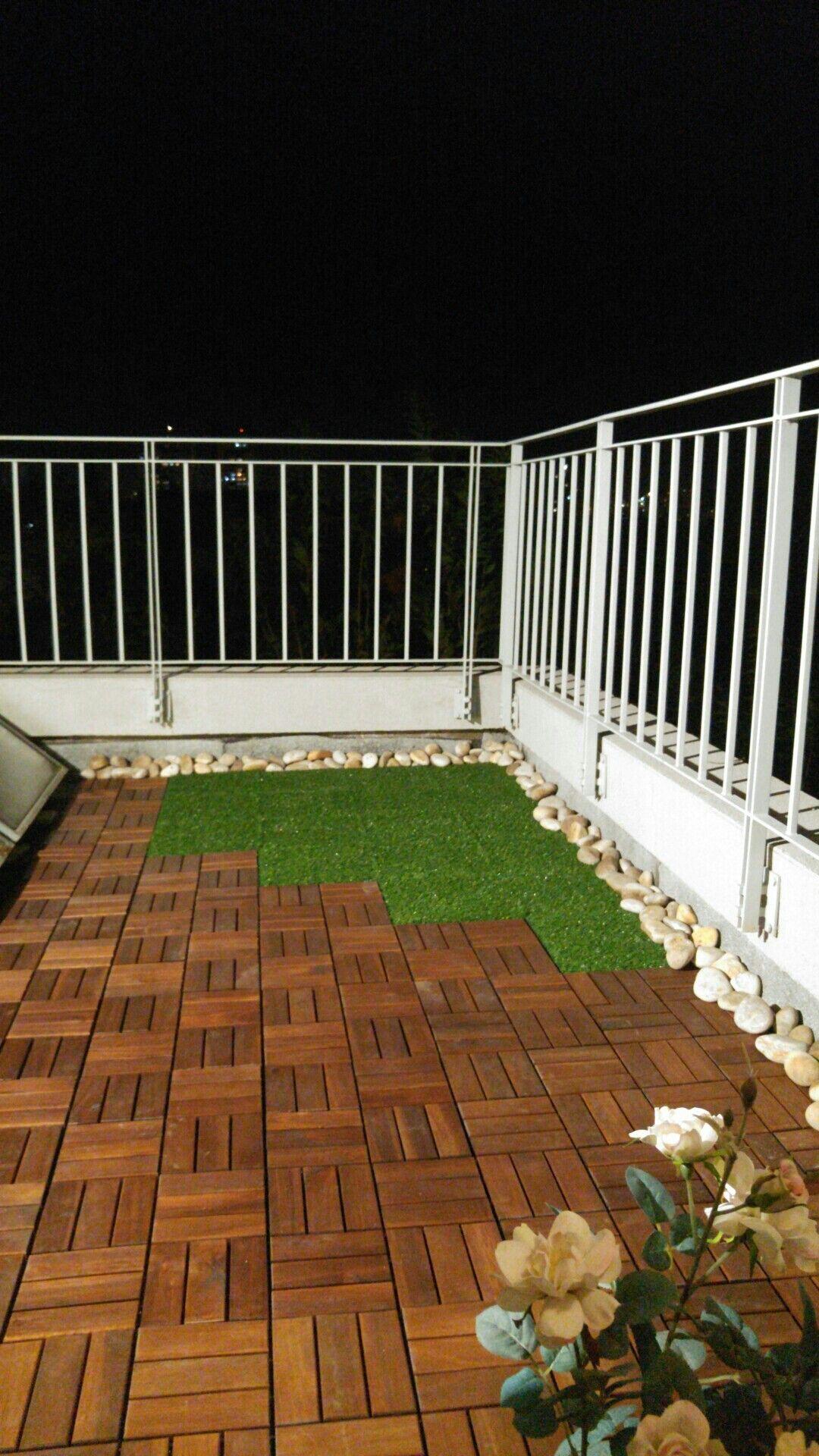 Ikea runnen grass and wood flooring Ikea outdoor, Ikea
