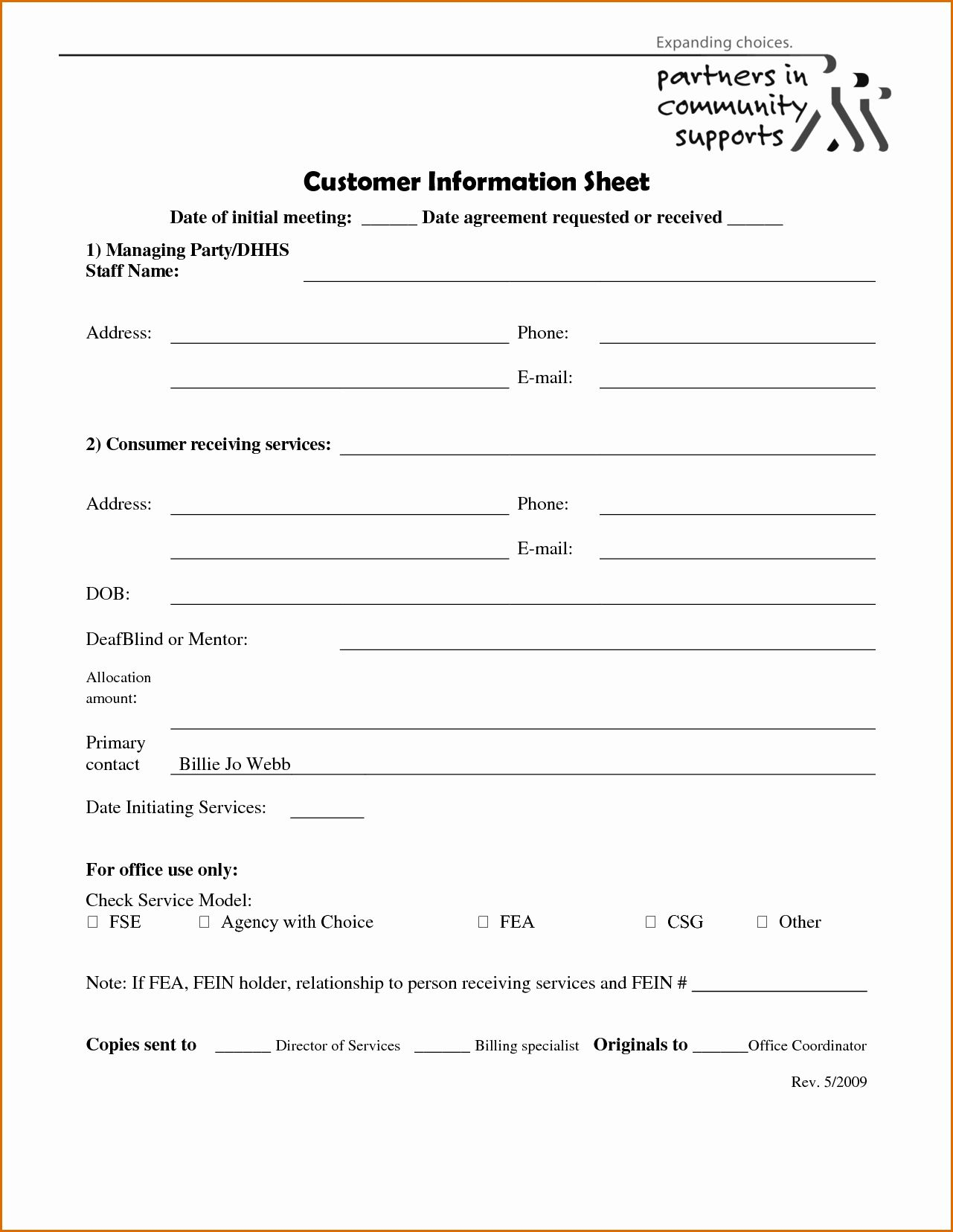 Customer Information Card Template Unique 5 Client Information Sheet Templates Card Template Questionnaire Template
