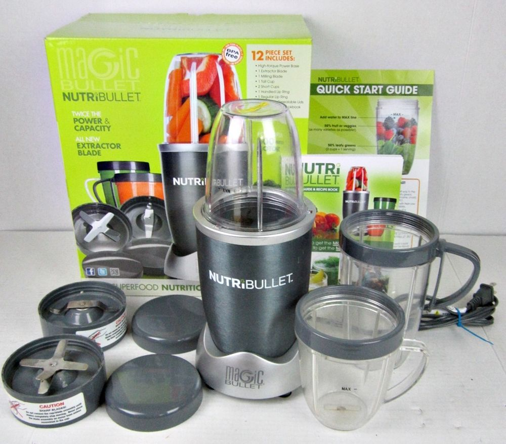 Image result for magic bullet nutribullet 12-piece high-speed blender/mixer system