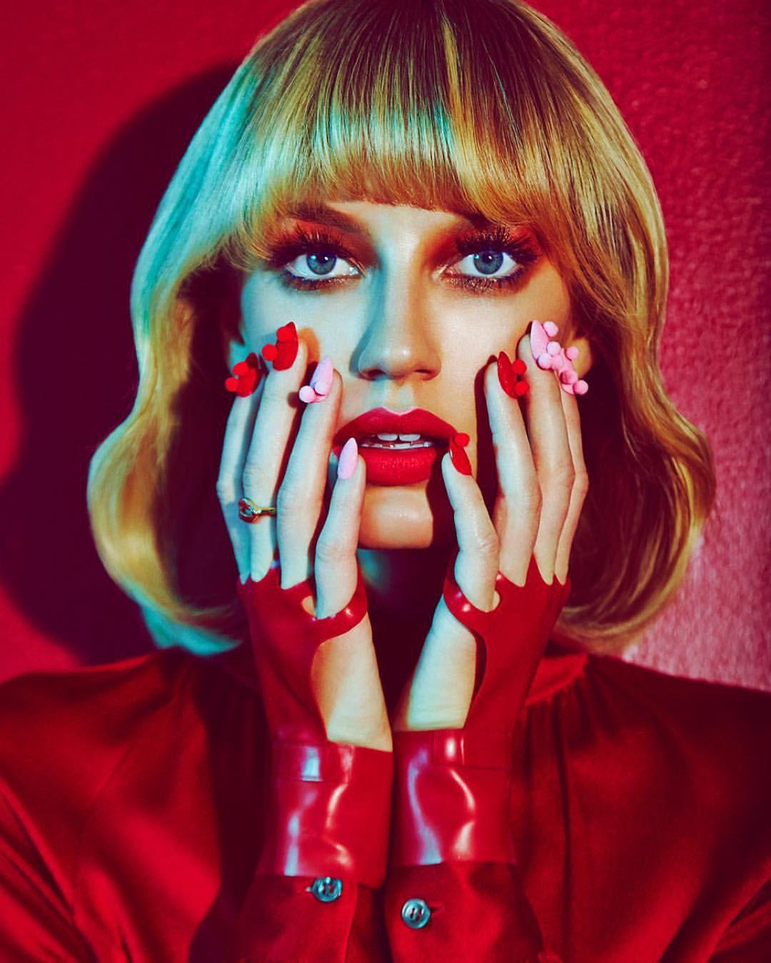 LOST HAIRDRESSERS — #MischaGolebiewski (@mischag) for #GlamourItalia....