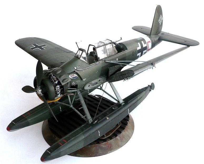 Revell's 1/32 scale Arado Ar 196A-3 Seaplane.