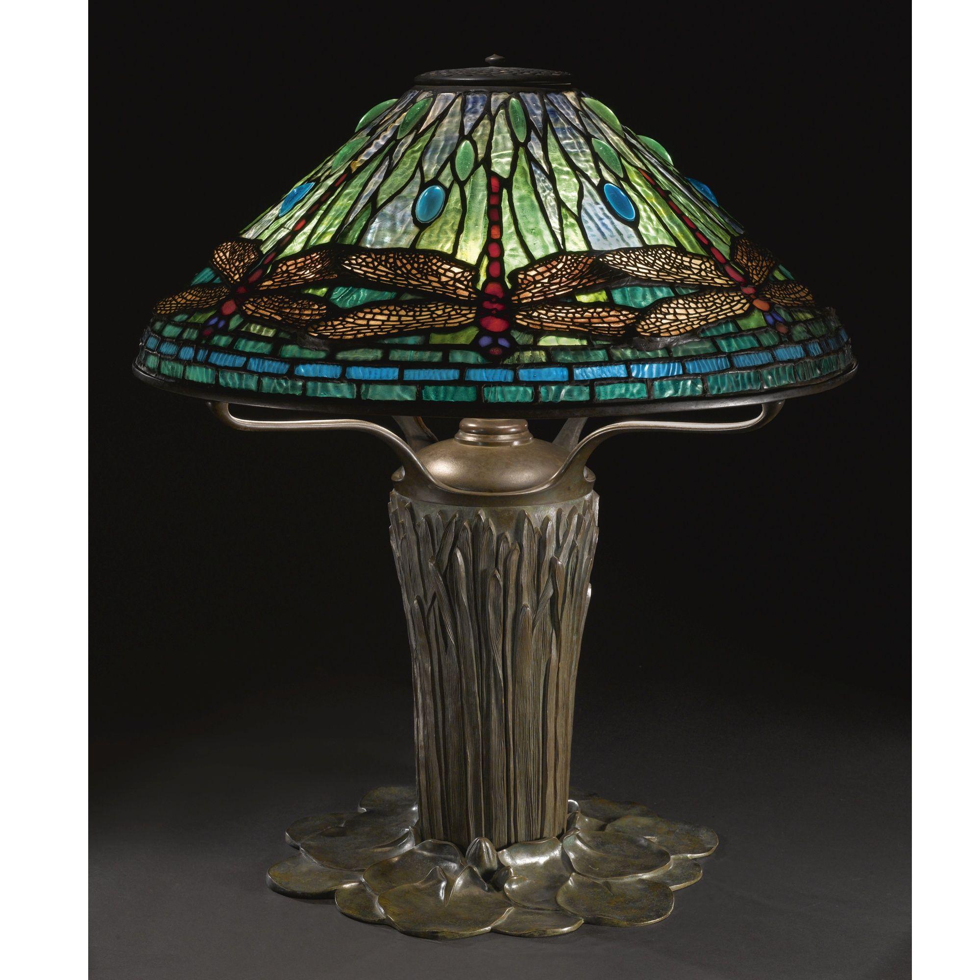 Tiffany studios lot sotheby dragonfly table lamp oil font tiffany studios lot sotheby dragonfly table lamp oil font impressed 5 geotapseo Gallery
