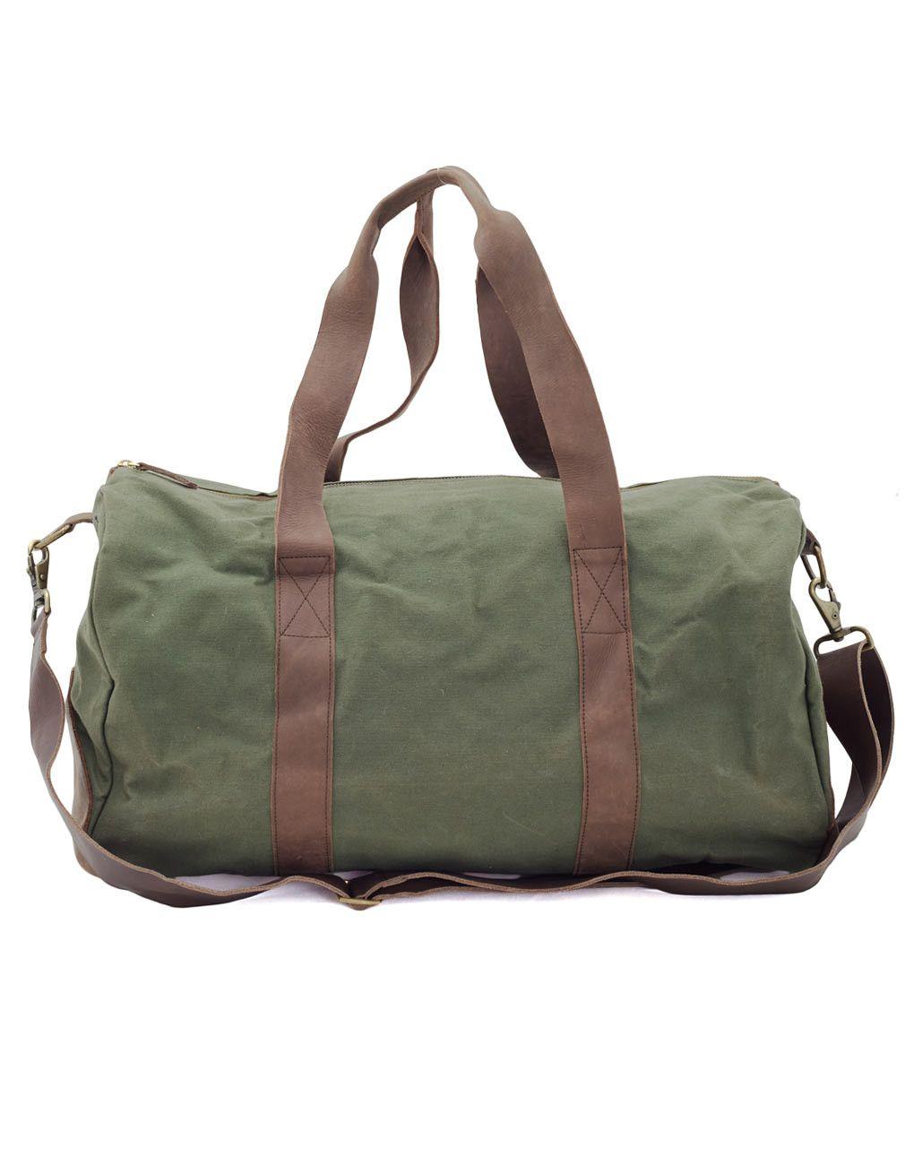Adventure Duffle Bag Green