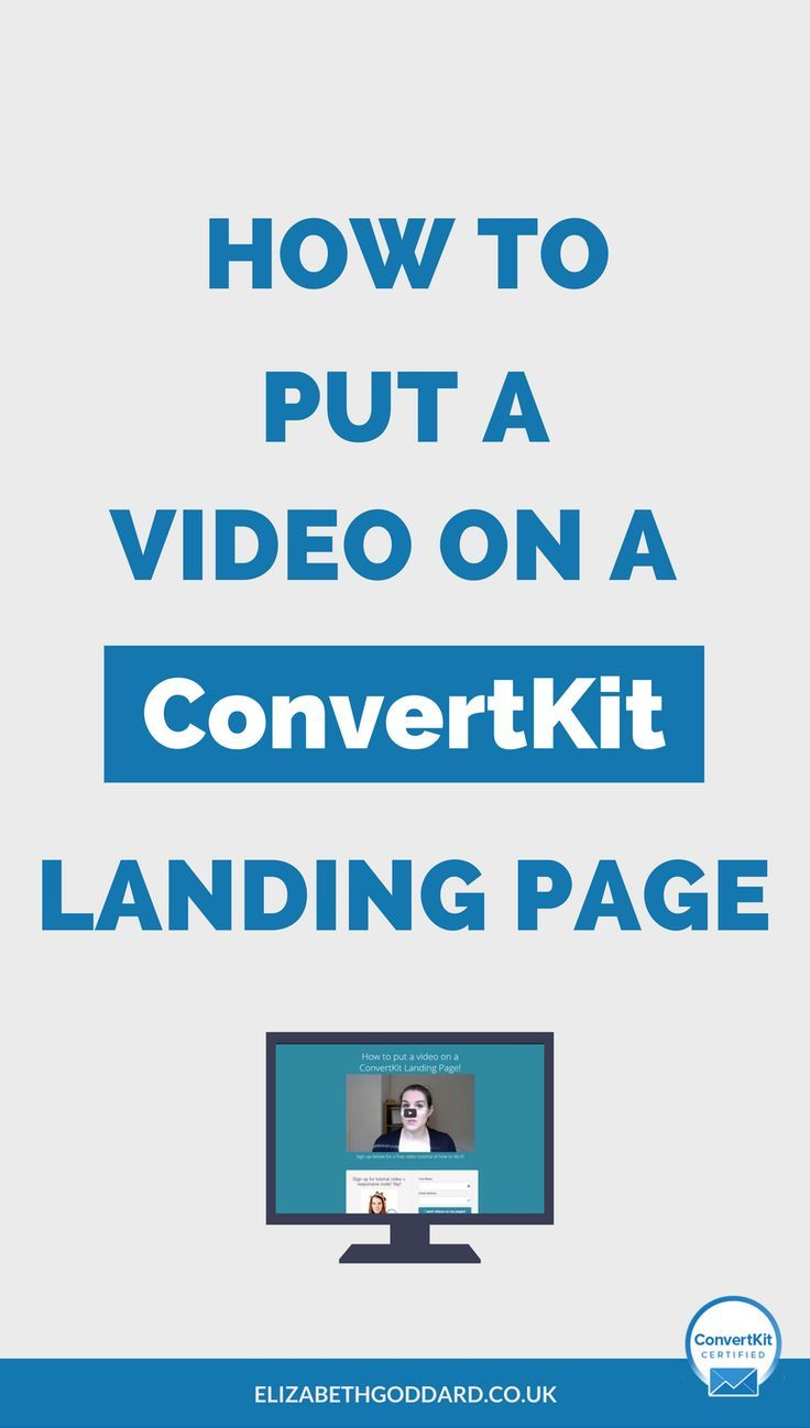 Some Of Convertkit Landing Pages