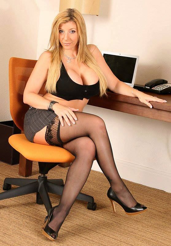 Sara jay black stockings curious