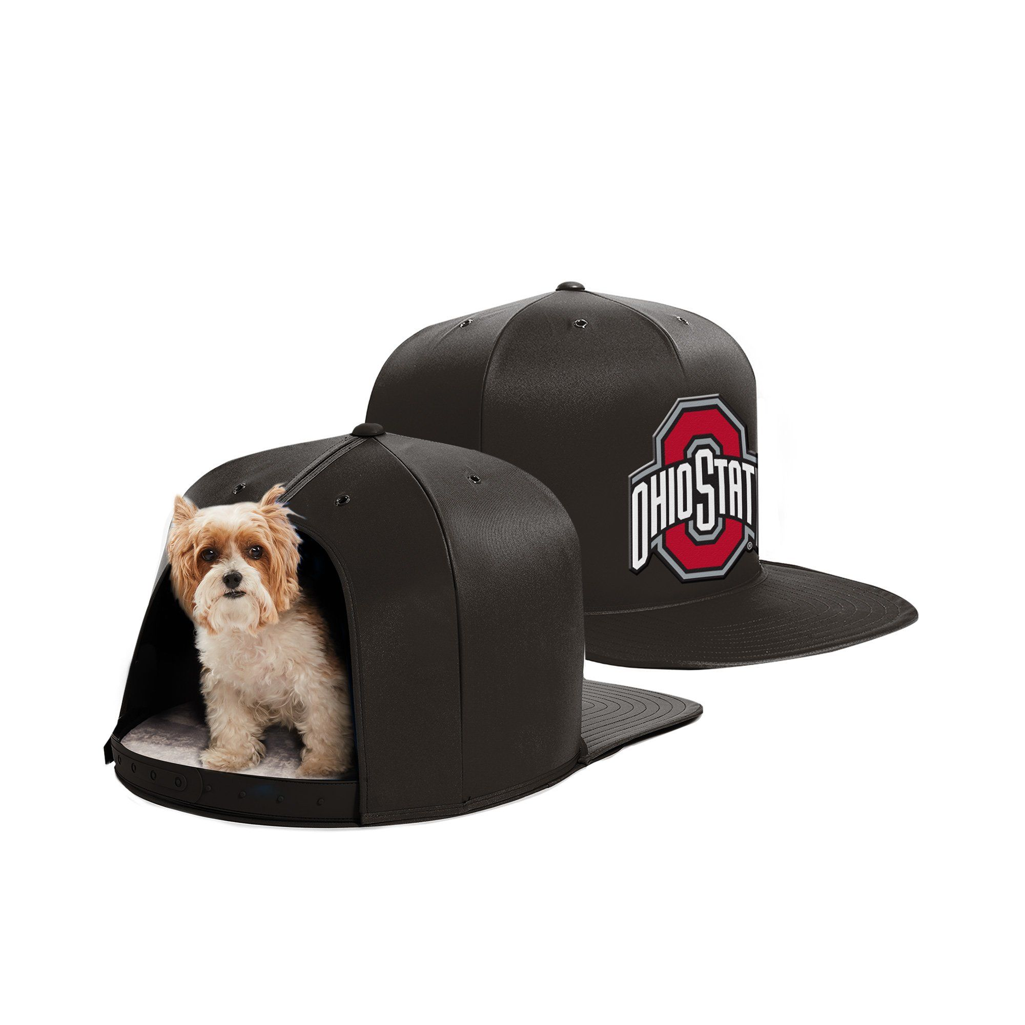 Ohio State University Nap Cap Dog Bed Small pets, Pet