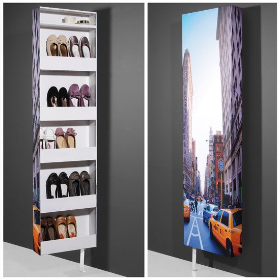 Superbe New York Shoe Rack Rotating In Metal   10893 Make A Statement With Shoe  Storage Cabinet For Your Home. Furniture In Fashion Offers Shoe.