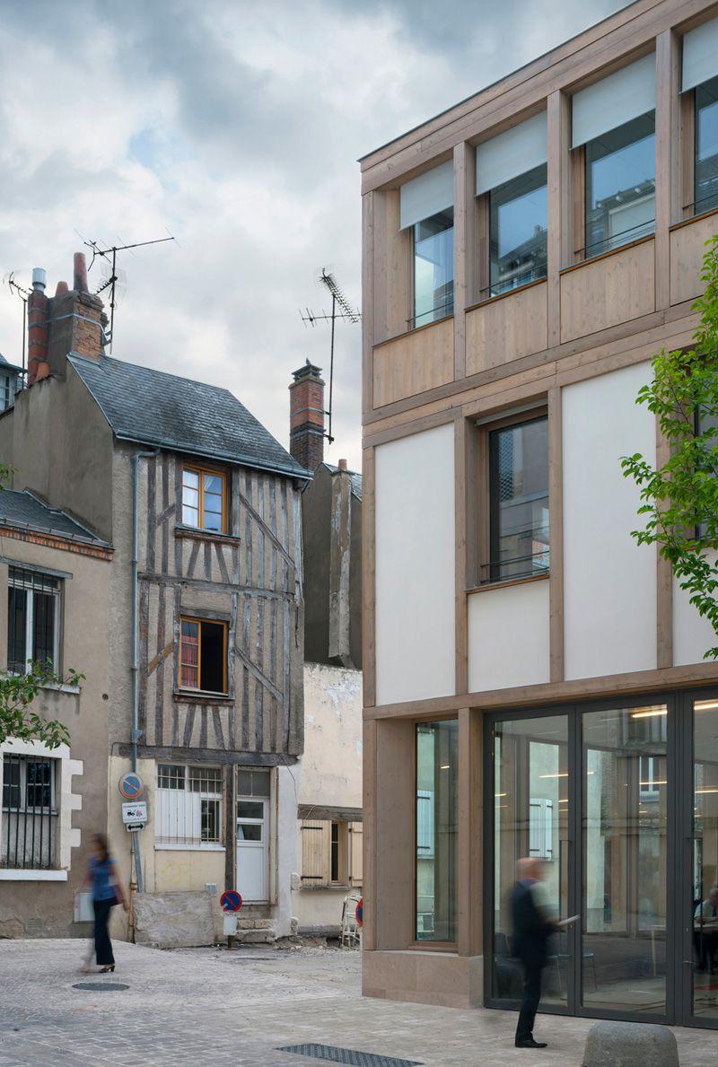 Clement Vergely Architectes Architecture De Facade Architecte Architecte Francais