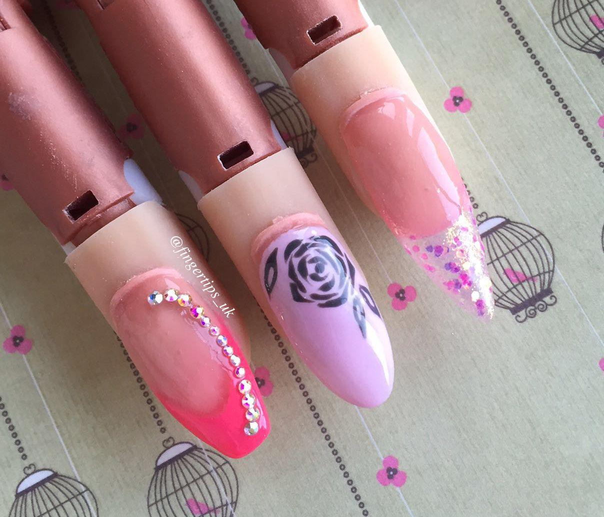 Nail Shapes fingertips_uk Nail shapes, Nail tips, Nails