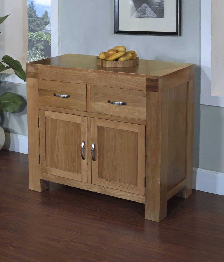 Nebraska Oak Sideboard Solid Wood Small 2 Door 2 Drawer Storage Cupboard New Ebay Oak Sideboard Solid Wood Sideboard Oak Cupboard