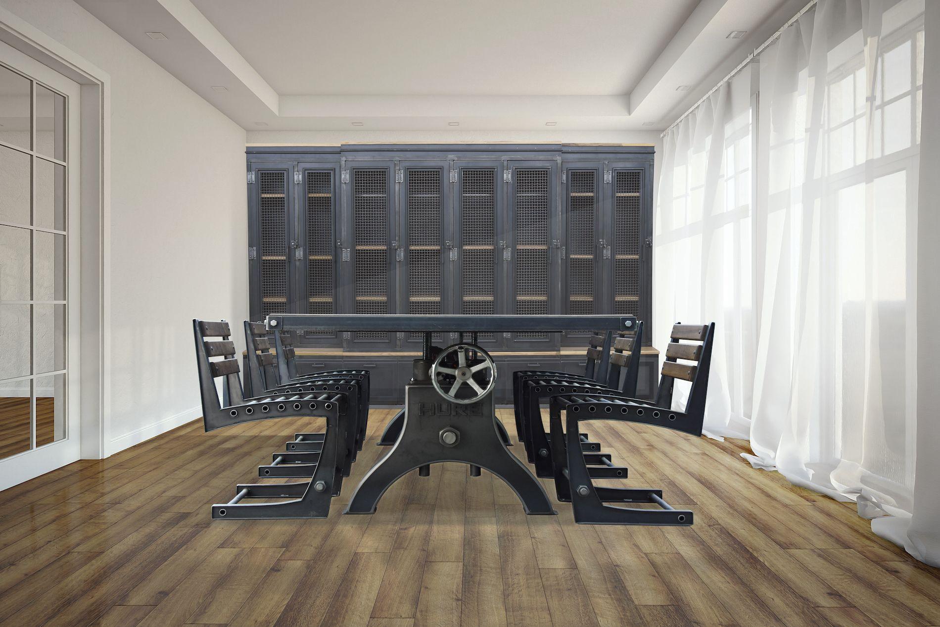 Hure crank table vintage industrial furniture - Hure Crank Table Large Drawerstable Vintagevintage Industrial Furnitureindustrial
