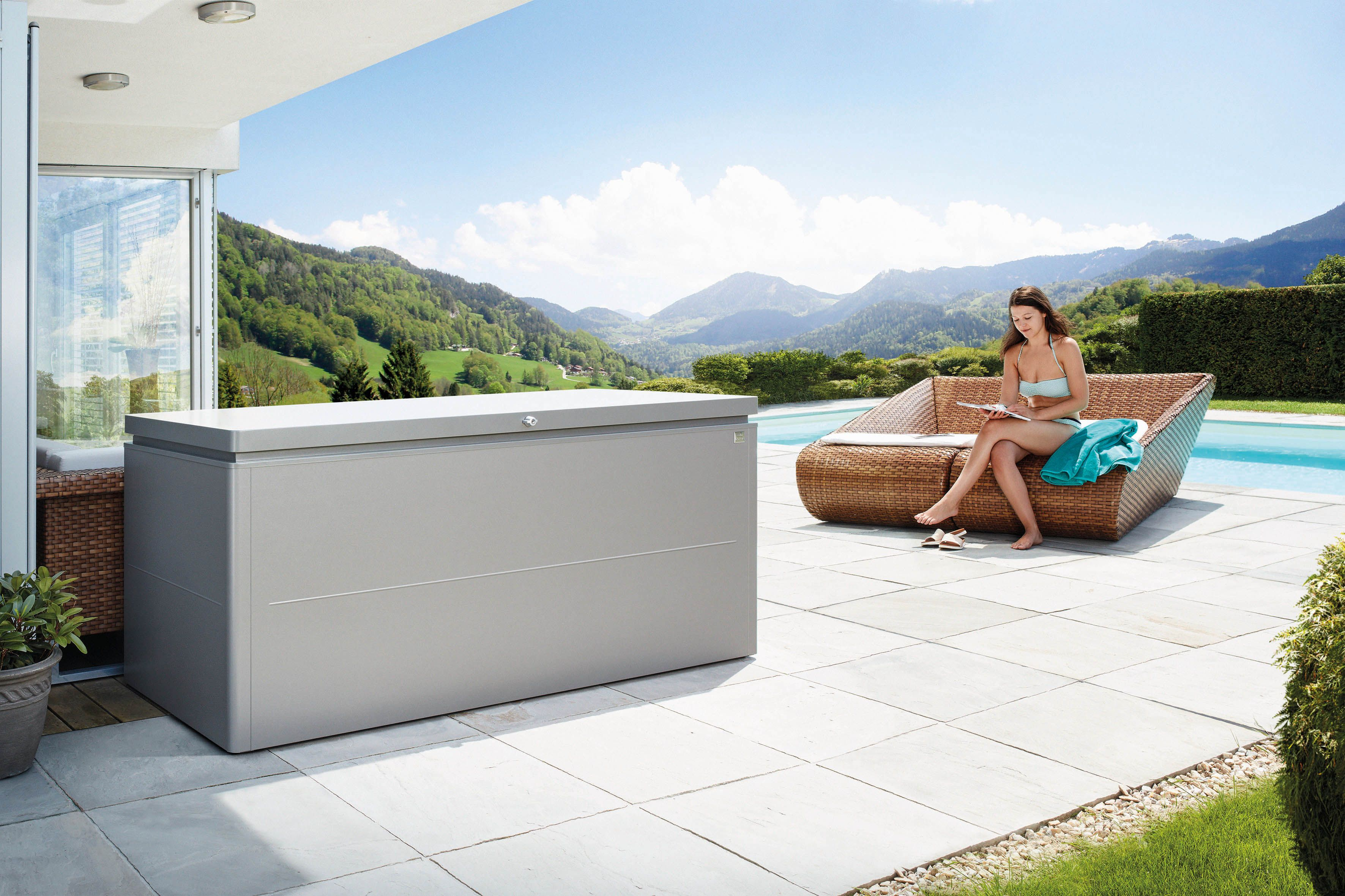 Die Loungebox In Der Neuen Größe 200 | Biohort Produkte ... Soma Blumenkubel Wiid Design Bilder