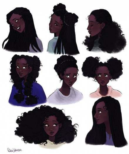 Pin On How To Draw Hair