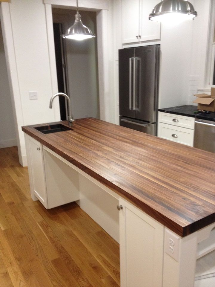 Custom Size Walnut Butcher Block   Prefinished   Quote And Order Online