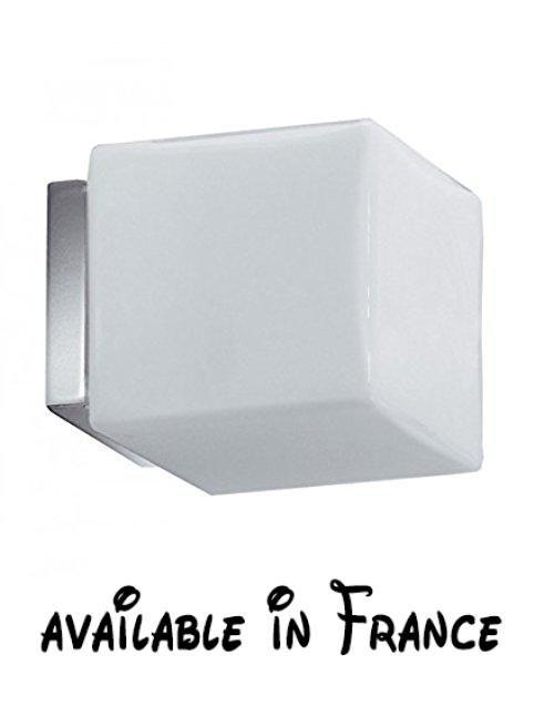 Lineabeta 5716229 Lampe halogène à mural cugolo, 220 V Accessoires - Plan Electrique Salle De Bain