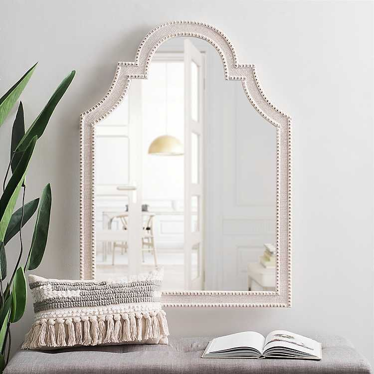 Kirkland S Wood Arch Mirror Wall Mirrors For Sale