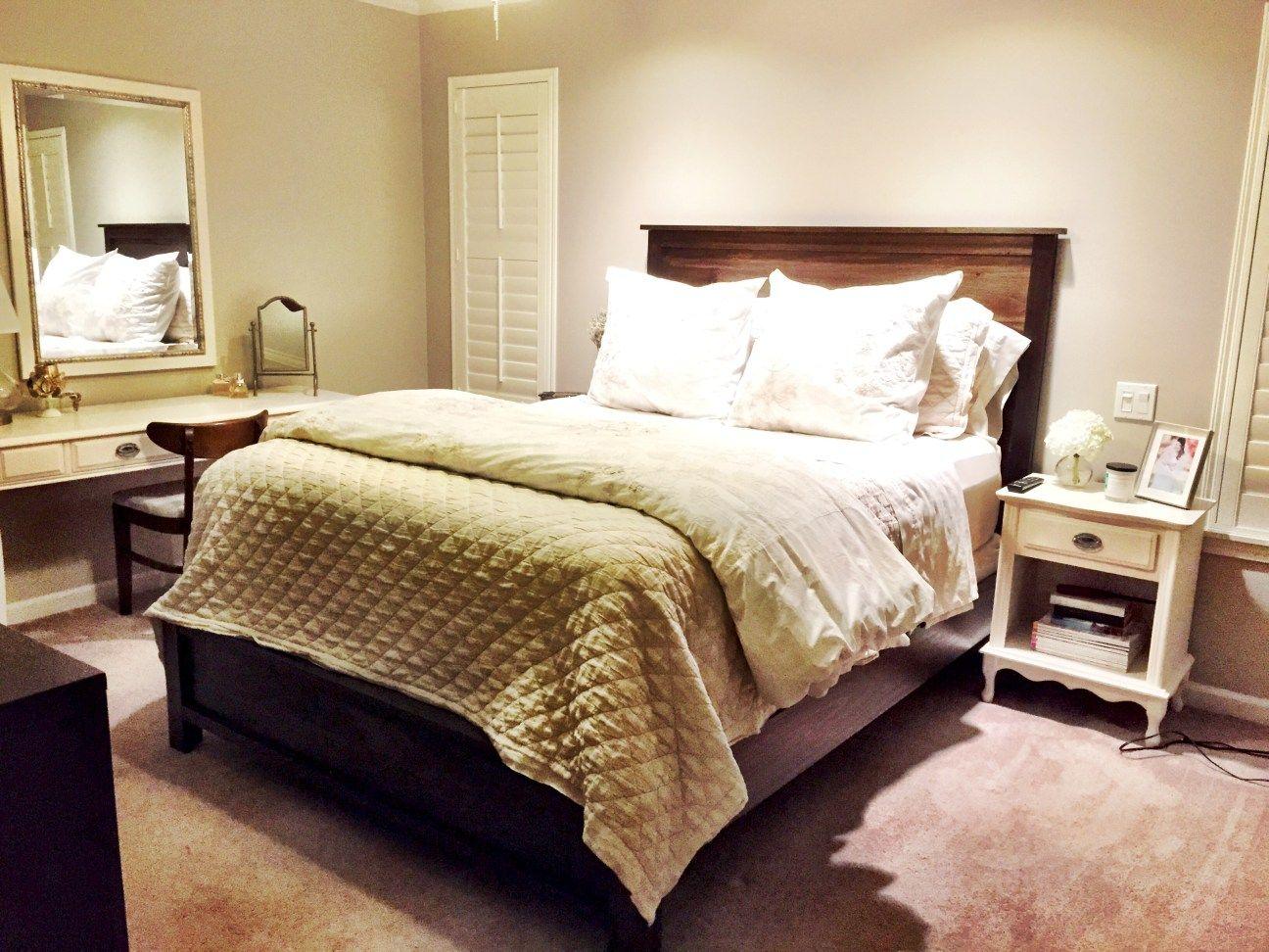 Headboard and Bed Frame DIY Diy bed frame, Bed frame