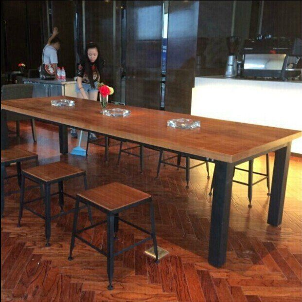 Starbucks Dining Table Dinette Combination Of Solid Wood