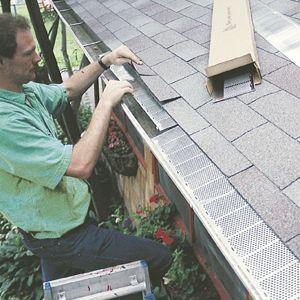 Gutter Guards Flat Roof Repair Home Repairs