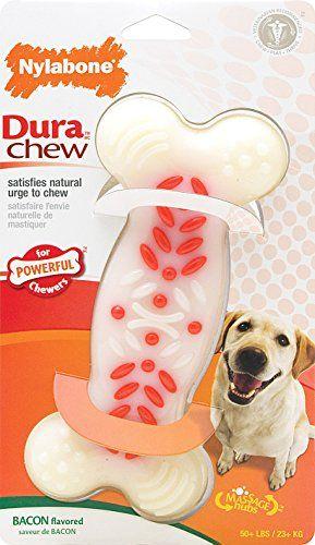 Nylabone Dura Chew Plus Bacon Flavor Souper White Products
