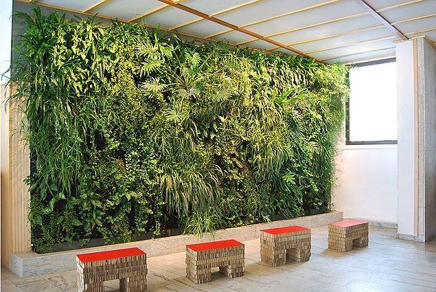 Paredes verdes, decoración ecológica | Ideas Eco