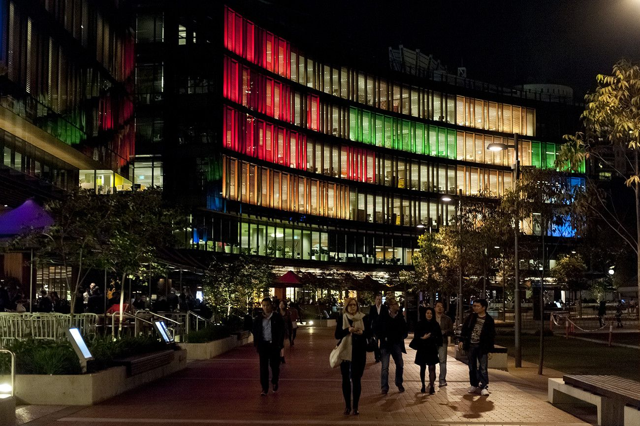Darling Quarter | Sustainable Landscape Design - ASPECT ...