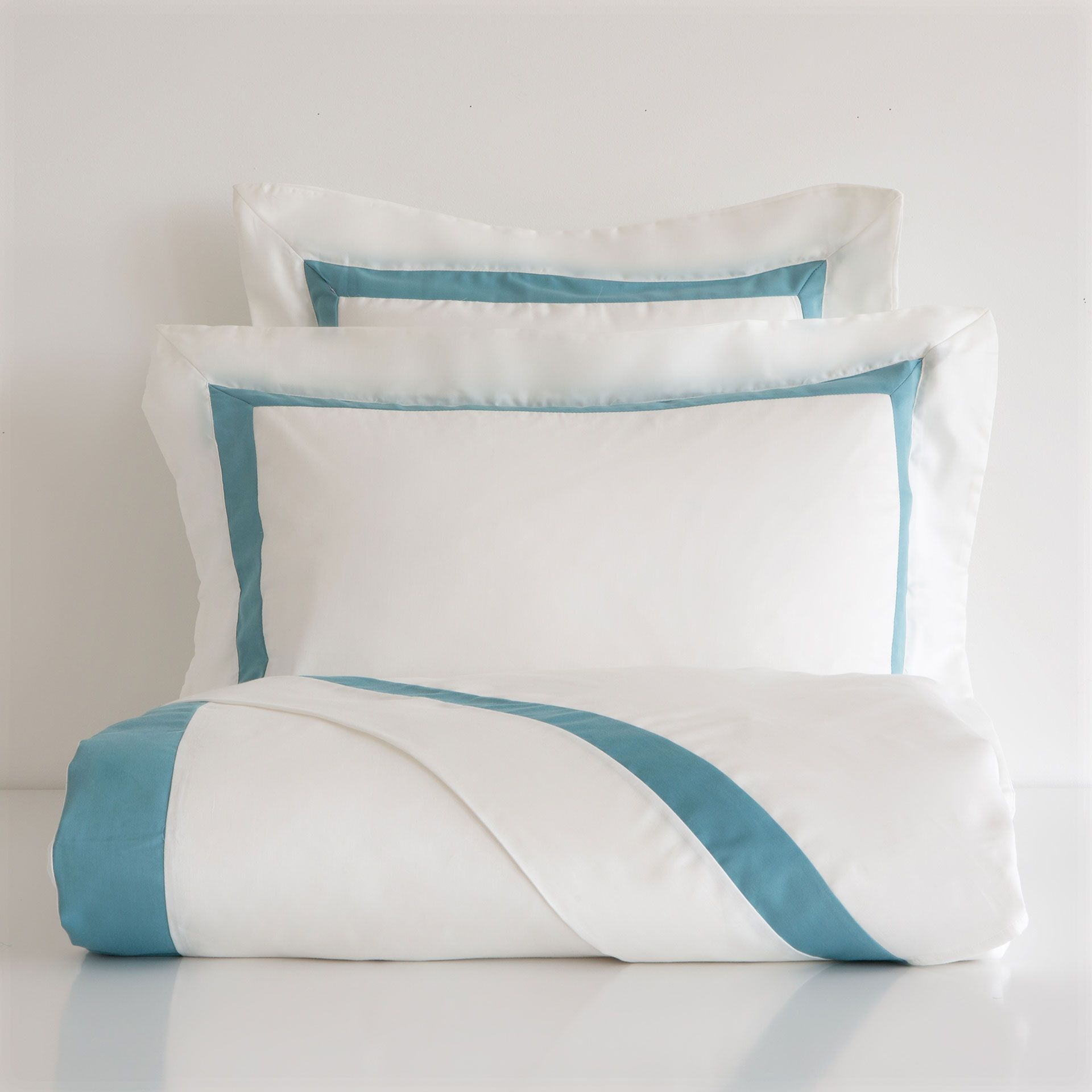 Blue ribbon satin bed linen bedrooms pinterest blue ribbon