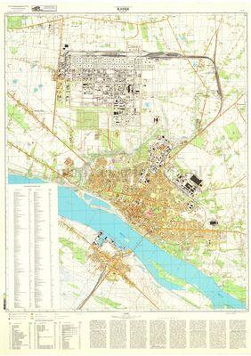 Plock 1980 1981 Mapa Zsrr Kliknij Aby Obejrzec W Pelnym Rozmiarze