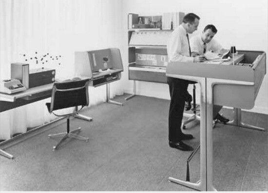 Herman Miller work space
