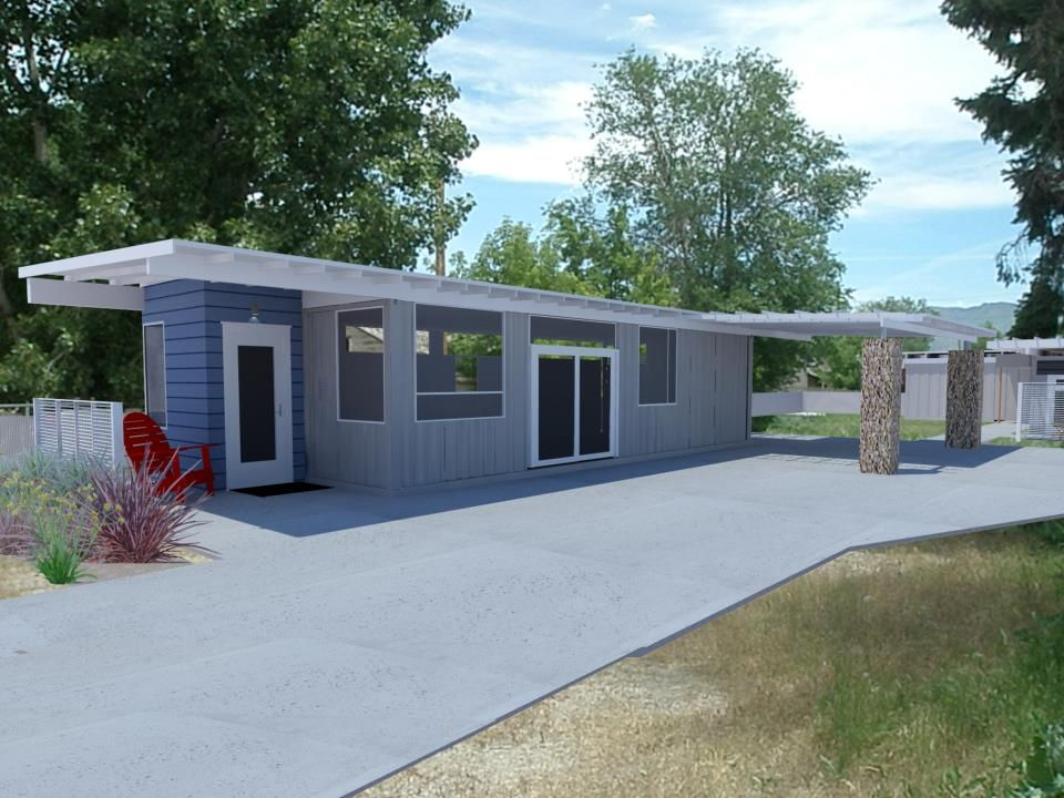 Shipping Container Homes: 2x 40ft Shipping Container Home, - Sarah ...