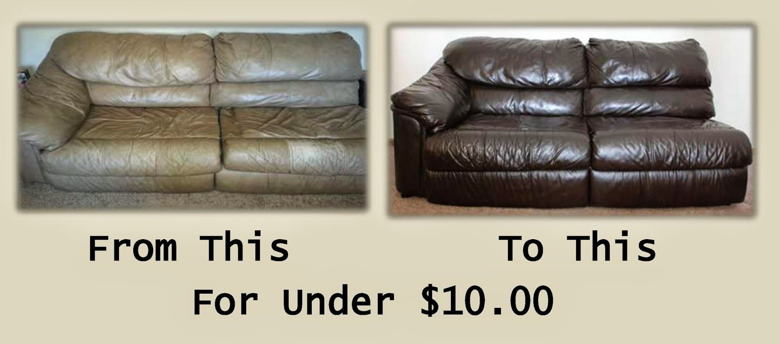 Leather Couch Make Over Diy Couch Makeover Diy Couch Leather Couch