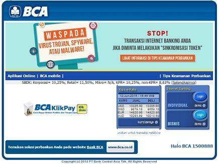 Caracek Net Perbankan Tips Aplikasi