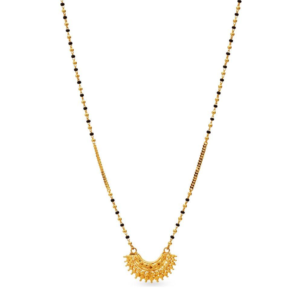 Kt yellow gold mangalsutra hp pinterest gold gold jewellery