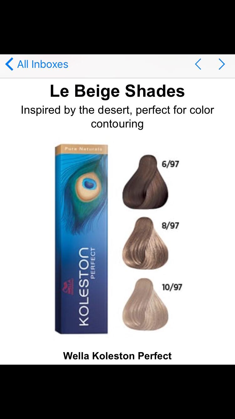 Pin By Jessica Rose On Wella Koleston In 2019 Hair Color Formulas
