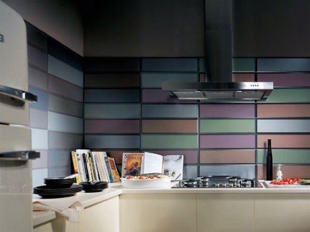 Piastrelle cucina design - PIastrelle cucina colorate