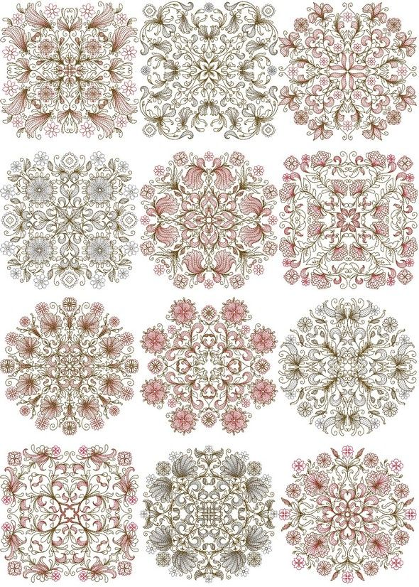 Machine Embroidery, Applique Embroidery Designs, Redwork, Colorwork ...
