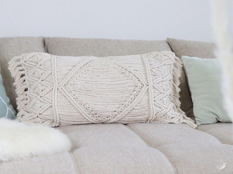 Diy Macrame Kissen Diy Pillow Covers Decorative Pillow Covers