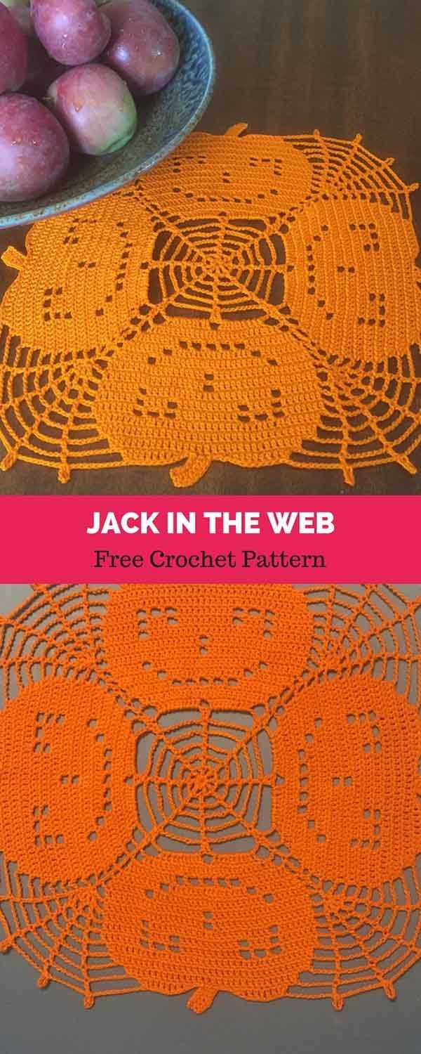 Jack-In-The-Web [ FREE CROCHET PATTERN | CROCHET | Pinterest ...