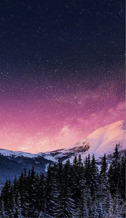 Stars Wallpaper And Mountains Image Cellphone Background Nature Wallpaper Beautiful Wallpapers
