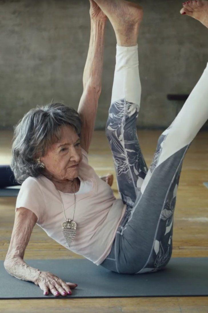 The World S Oldest Yoga Teacher Stars In New Athleta Ad Yoga Inspiration Yoga Teacher Yoga Poses