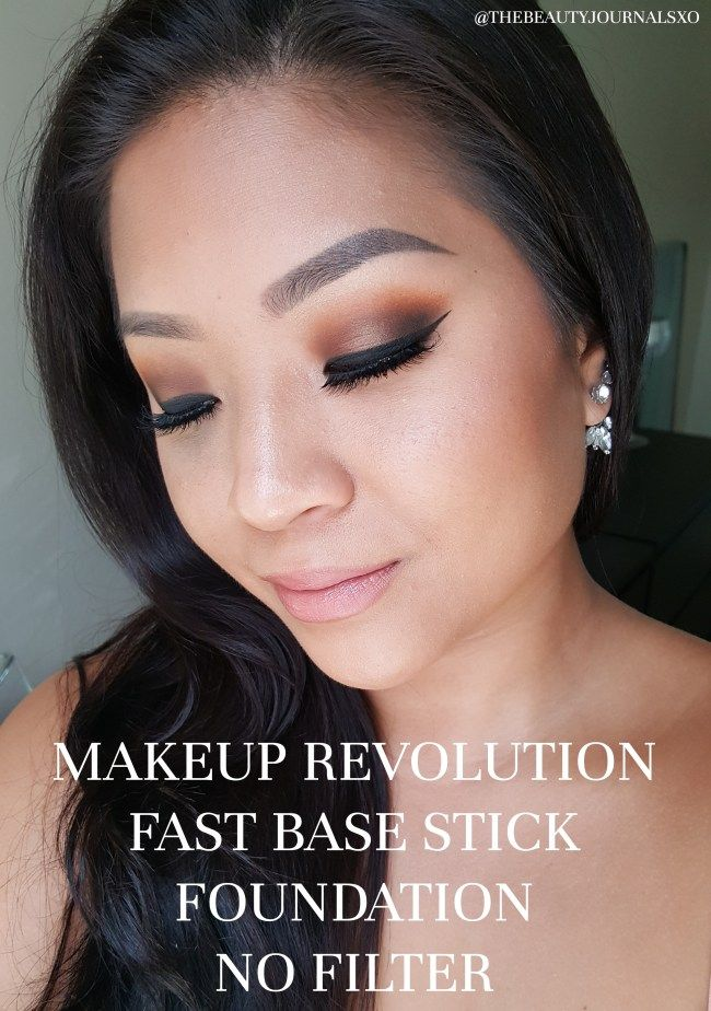 Makeup Revolution Fast Base Stick Foundation Review and