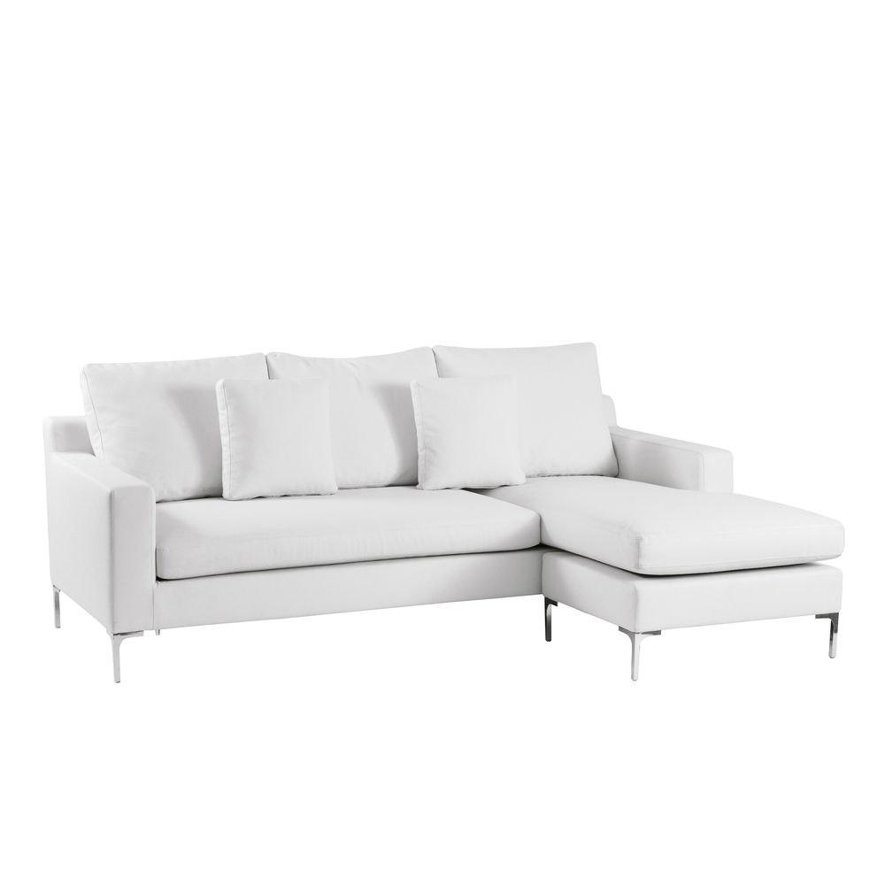 White Corner Sofas A Sign Of Elegance Pureness And Style With Images White Corner Sofas
