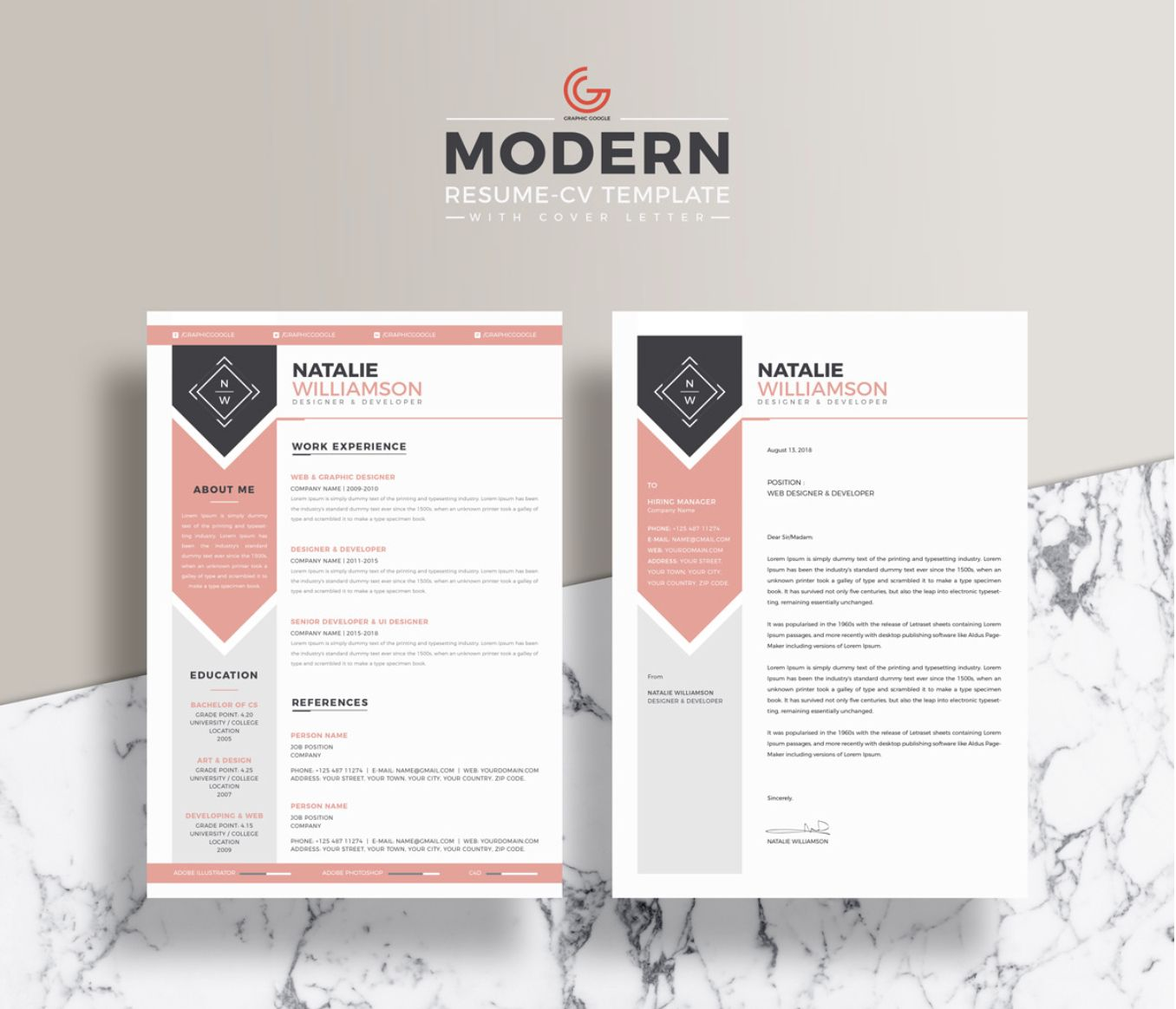 The appealing The Best Free Creative Resume Templates Of