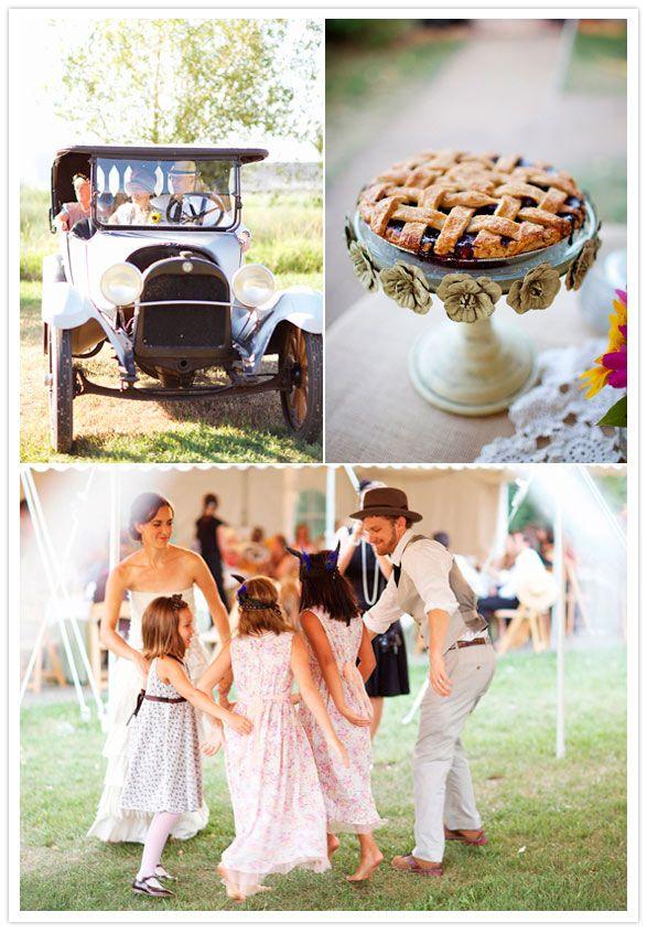 1920s Rural Themed Wedding wedding vintage_inspired