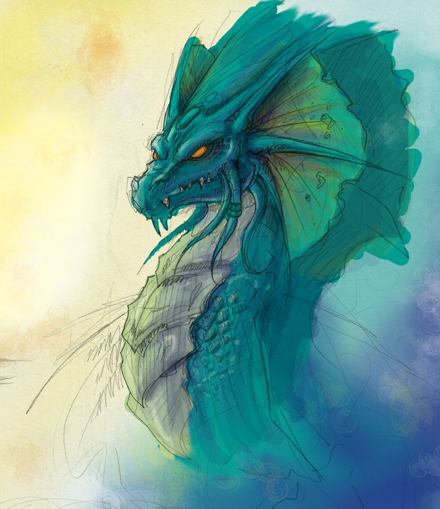 Sea Dragon by *Pandora27 on deviantART | Fantasy Art ...