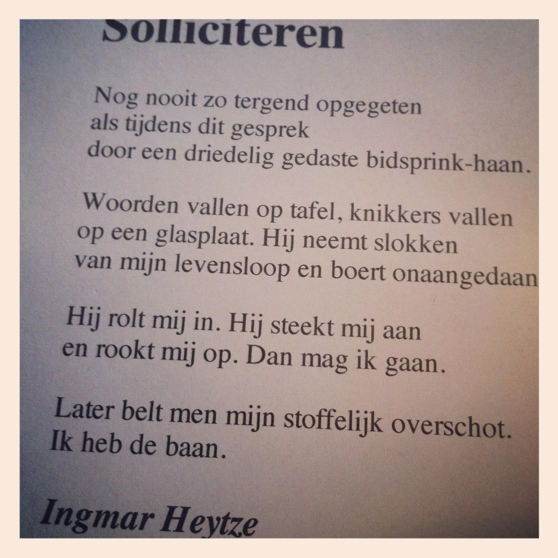 Solliciteren (Ingmar Heytze)