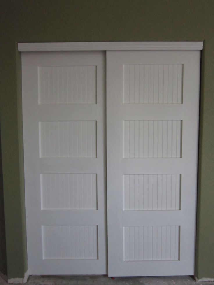 Bypass Closet Doors Closet Door Makeover Bedroom Closet Doors Closet Bedroom